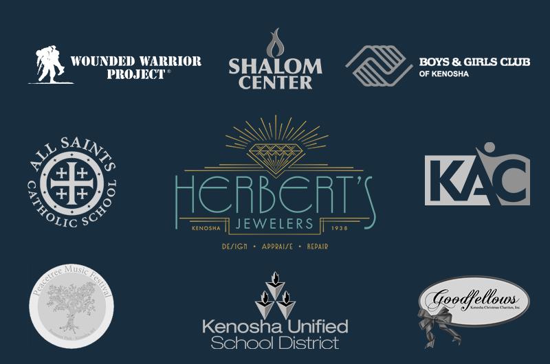 herberts jewelers community support, kenosha jewelry store, herberts jewelers