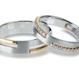 modern wedding rings in kenosha, special order wedding rings, intricate wedding bands
