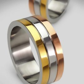 men's wedding rings, metal wedding rings, modern wedding rings
